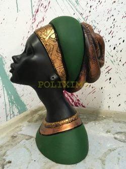 Afrikalı Kadın Büst