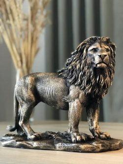 dört ayak aslan büst polixim